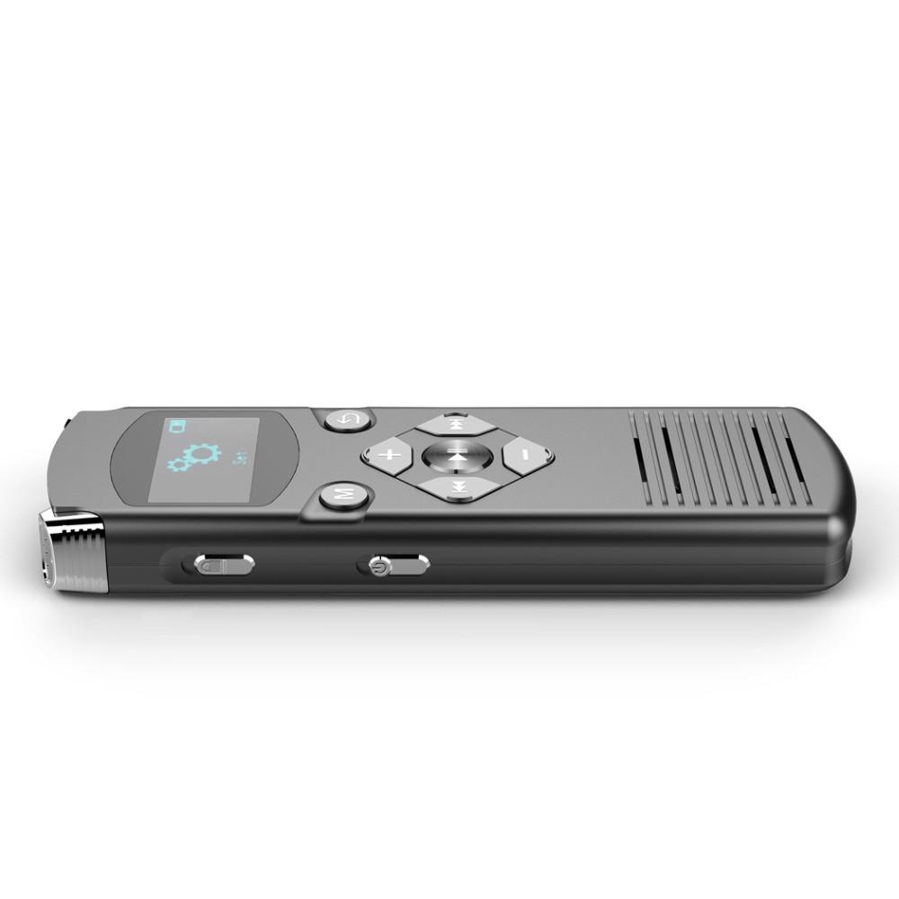 DVR-616 8gb 16gb gravador de voz usb flash profissional gravador de voz de áudio digital com microfone embutido var/vor