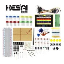 Paquet de pièces électroniques intelligentes/Kit de démarrage de platine de prototypage électronique 830 pour Kit de bricolage arduino