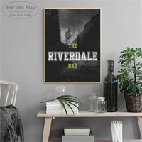 riverdale tv plays landscape posters and prints wall art canvas painting for living room decoration home decor unframed quadro