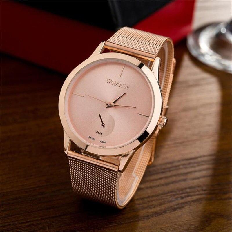 Geneva Fashion Black Women/Men Watches 2018 High Quality Faux Leather Quartz Watch Woman Elegant  Watch  #D