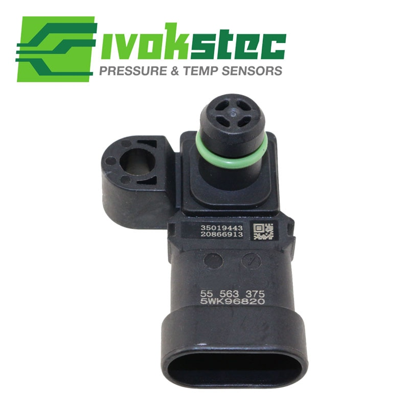 55563375 colector absoluta incremento de entrada de aire sensor de presión MAP para CHEVY CHEVROLET CRUZE estación Wagon 1,6 de 1,8 de 2,0 5WK96820Z