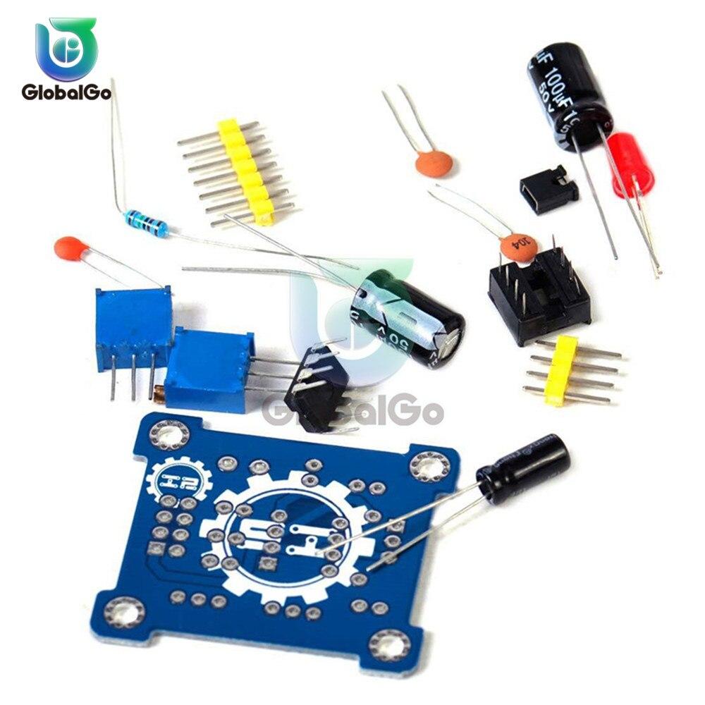 NE555 Puls Generator Starter Modul DIY Kit Einstellbare Duty Zyklus Frequenz Oszillator Platz Welle Signal Generator
