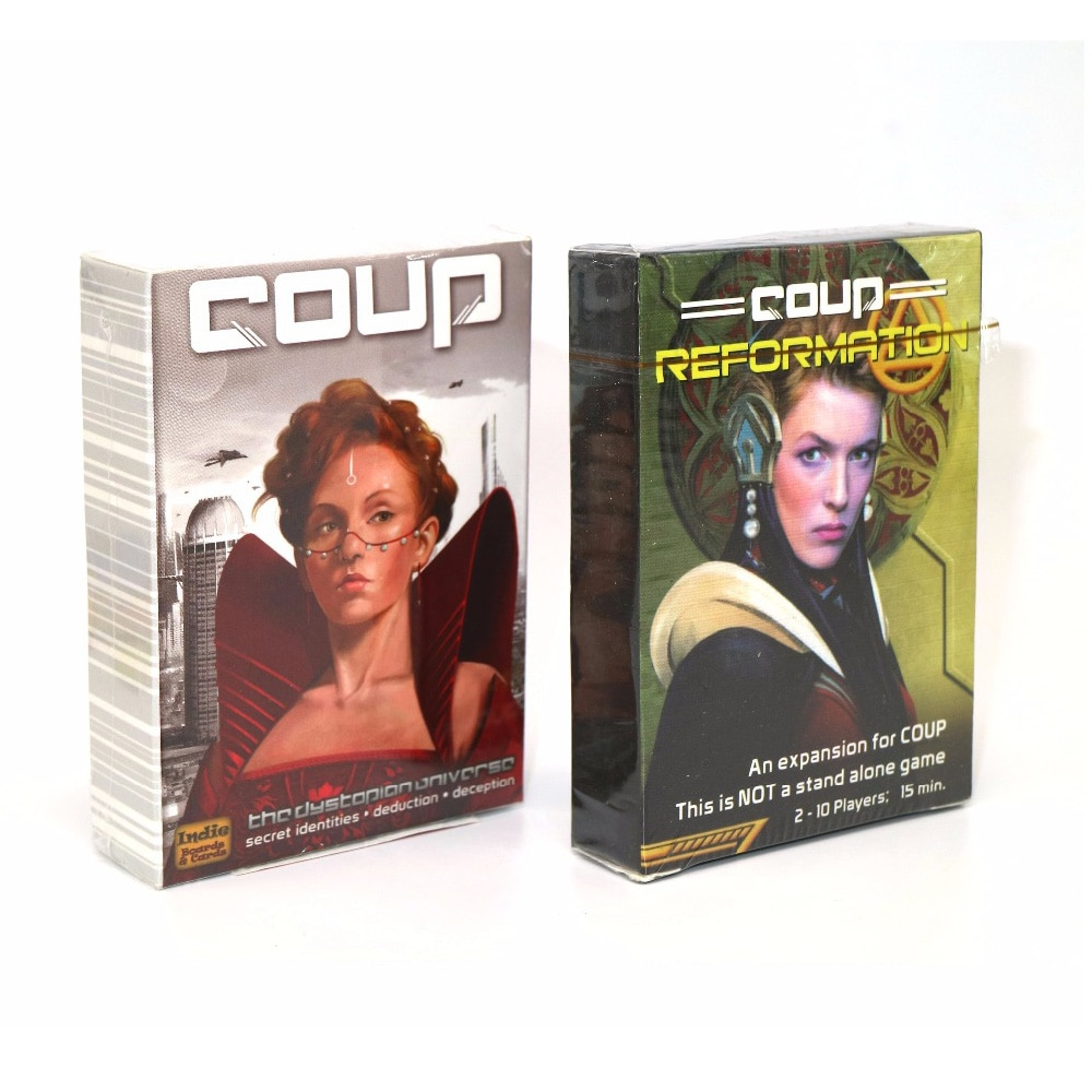 Фото - 2021 Coup card game Full English version board game party playing cards for family kids gifts geistesing board game 2 8 players family party best gift for children english instructions cards game reaction blitz game