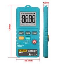 Richmeters RM088 Mini Digitale Multimeter 8000 Telt Lijn Frequentie True-Rms Flash Licht Ac/Dc Spanning Ohm