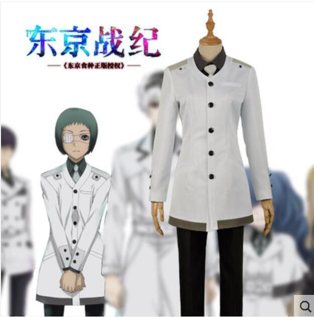 Anime de Tóquio Ghoul Re Cos Mutsuki Toru Cosplay Halloween Homem Feminino uniforme Cosplay