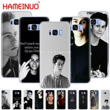 HAMEINUO Teen Wolf Dylan O'Brien cell phone case cover for Samsung Galaxy S9 S7 edge PLUS S8 S6 S5 S