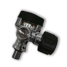 Ac921 공기 밸브 300bar 4500psi scba 실린더 pcp 압력 게이지 스레드 m18 * 1.5 드롭 배송