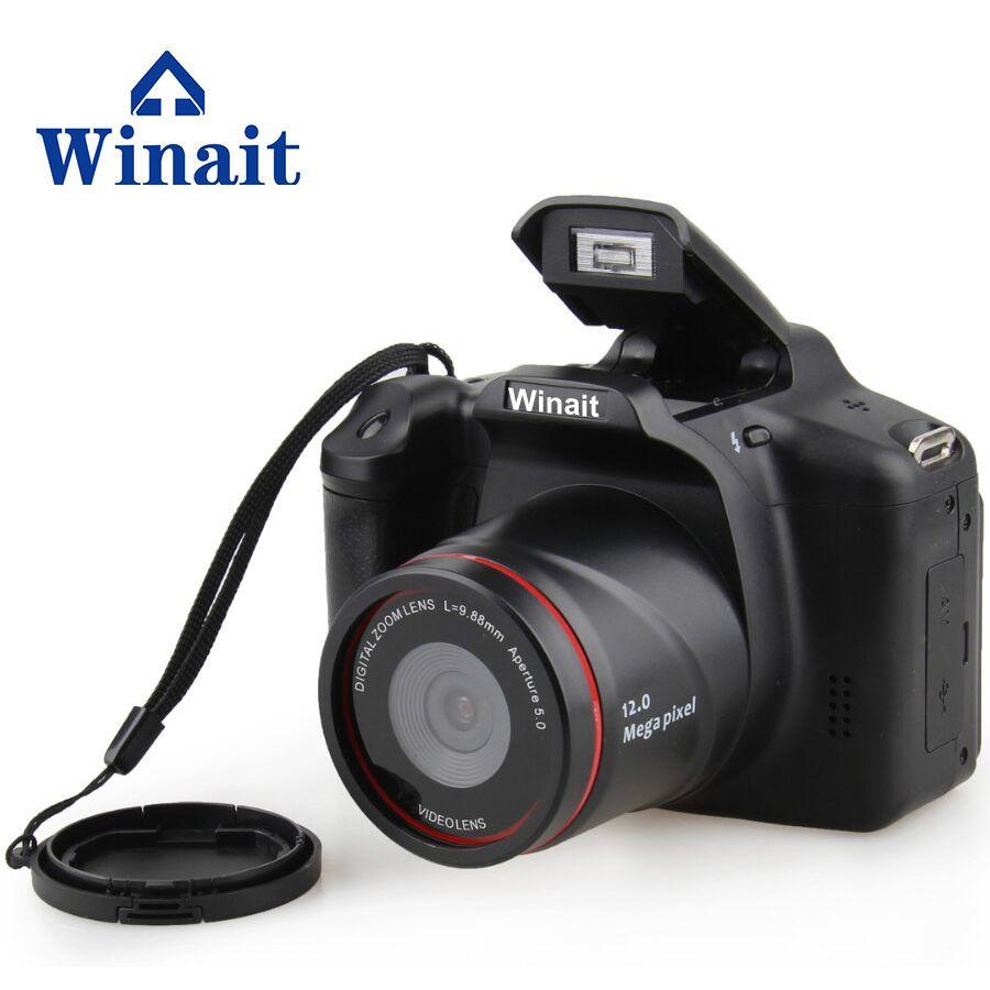 2017 дешевая камера 32 Гб HD720P12MP профессиональная dslr камера 4X цифровой телескопический зум-объектив Бесплатная доставка камера Fotografica