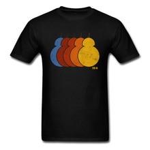 Famille Star Wars BB 8 groupe arc-en-ciel Alan Walker manches t-shirts fête du travail col rond 100% t-shirts maigres pour homme t-shirt personnalisé