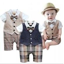 Vêtements une pièce pour nouveau-né   Vêtements pour bébé garçon, barboteuse, tenue de soirée pour garçons
