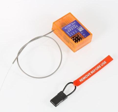 Sr3100 receptor de 3 canais 3ch rx 1/18, escala, chassi rc carro spmsr3100