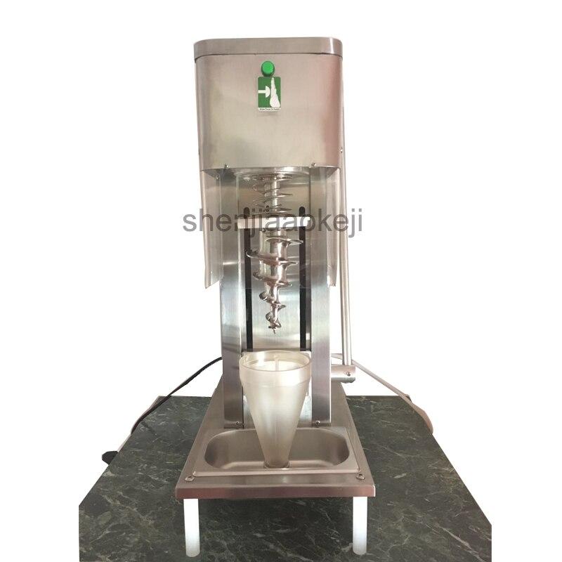 Commercial fruit ice cream machine Stainless Steel soft Ice Cream Maker 220V sweet cone machine yogurt ice cream machine 750W