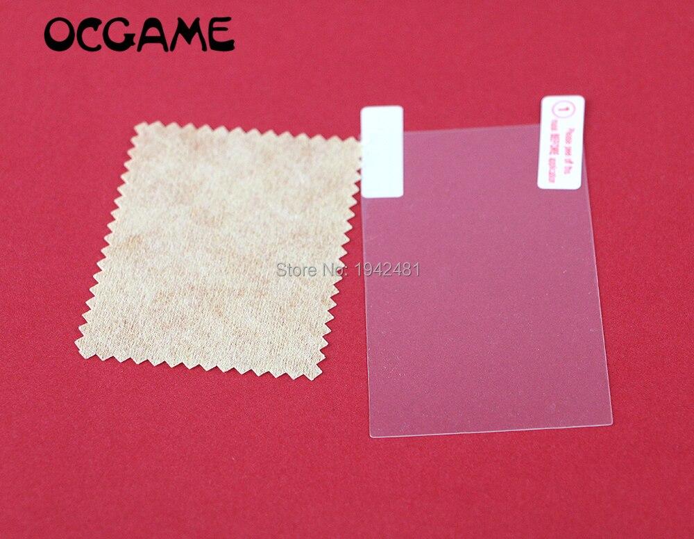 Funda protectora de pantalla transparente OCGAME, película protectora limpia para PSP 1000 2000 3000 sin paquete 200 set/lote