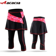 ACACIA femmes cyclisme jupe pantalon costumes femme vélo vélo collants costumes 4 couleurs 03989