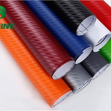 KUNFINE 3D Carbon Fiber Vinyl Car Wrap Car stickers and Decals Motorcycle Car Styling Accessories Wa