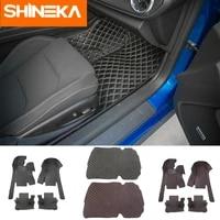 shineka floor mats leather for chevrolet camaro 2017 full set leather floor mats trunk mat luxury decrotion for camaro 2017