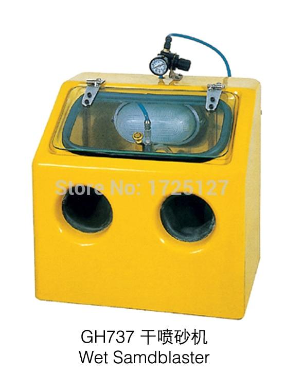 آلة تلميع المجوهرات goldsmith sandblaster ، آلة تلميع المجوهرات ، أدوات وآلة المجوهرات القابلة لإعادة التدوير