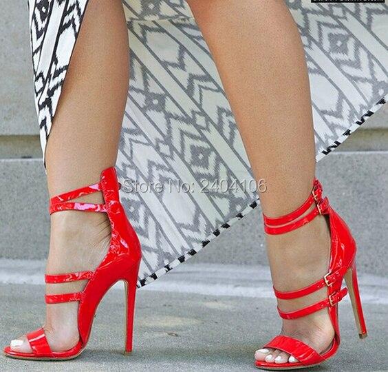 Neue Mode Sommer Sandales Talon Femme Sexy Offene spitze Damen Kleid Schuhe Ausschnitte Schnalle High Heels plattform Sandalen