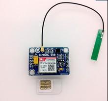 Livraison gratuite 2 PCS/lot SIM800L module à la place SIM900A 4 fréquences données disponibles dans le monde avec antenne PCB GSM GPRS module