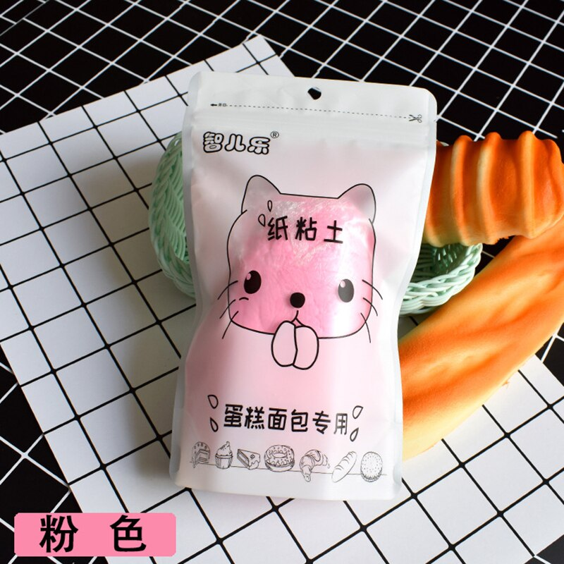 100g Cartoon Cat Paper Clay Plasticine Slime Polymer Art Model Light Clay Modeling Clay Educational toys for children Kid Gift