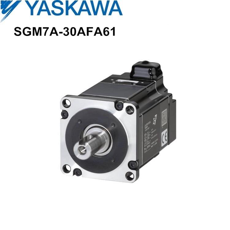 3kw SGM7A-30AFA61 Yaskawa YASKAWA servo motor novo e original sigma-7 SGM7 série servomotor