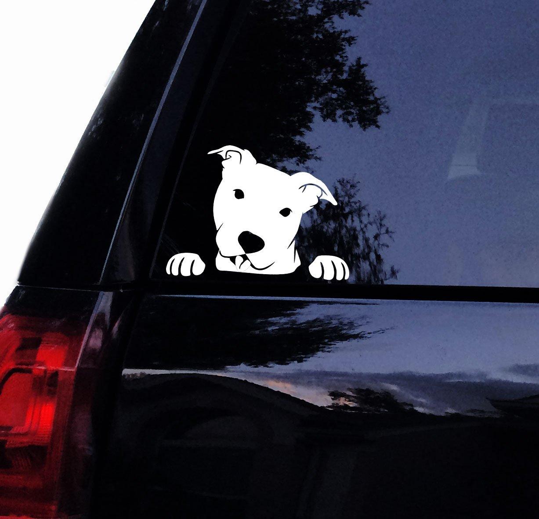 Футболка Rocket Pitbull наклейка-Peeking Peek A Boo Pit Face-Pit Bull Автомобильная наклейка, наклейка для ноутбука, наклейка на окно автомобиля (7