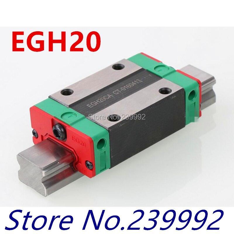 EGH20CA EGH20SA الخطي carraige ل 20 ملليمتر الخطي دليل EGR20 مجموعة CNC أجزاء