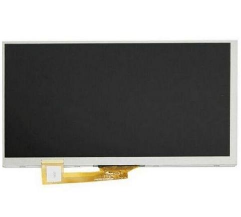 "164*97mm 30 pin nueva pantalla LCD 7 ""Irbis TZ716 Tablet Pantalla LCD interna Panel lente Módulo de pantalla reemplazo"