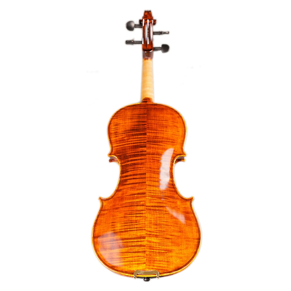 TONGLING Brand Full Hand-made Alcohol Paint Violin 15 Years Old Naturally Dried Stripes Maple Hand-craft Professional Violin 4/4 enlarge