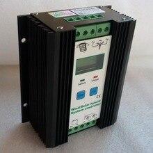 Boost MPPT Wind Solar Hybrid Charge Controller 12V/24V for 300W 400W 500W Wind Turbine Generator&300W PV solar panels controller