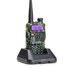 Baofeng UV-5R Camouflage talkie-walkie 5W VHF UHF pratique Portable talkies-walkie UV5R bidirectionnel CB Radio communicateur émetteur-récepteur