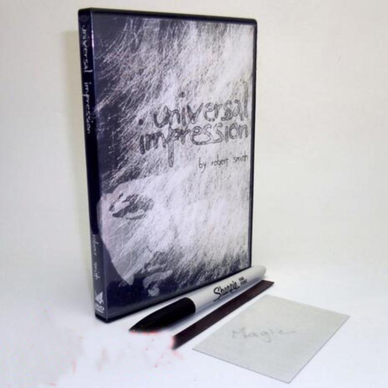Universal Impression and paper crane production Close-Up Magic Trick street mentalism magic tricks