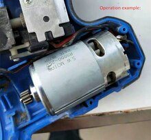 Copper DC motor charging drill lithium electric hand drill Replace Maintenance 10.8V 12V 14.4V 16.8V 18V 21V 25V R550 General DC