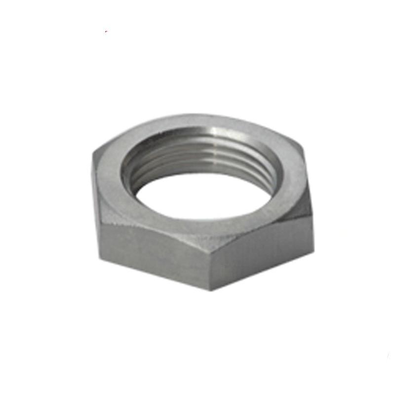 BSPT, tuerca de bloqueo DN15 de 1/2 pulgadas, tuerca de bloqueo hexagonal de acero inoxidable SS304 con ranura en O, nueva marca