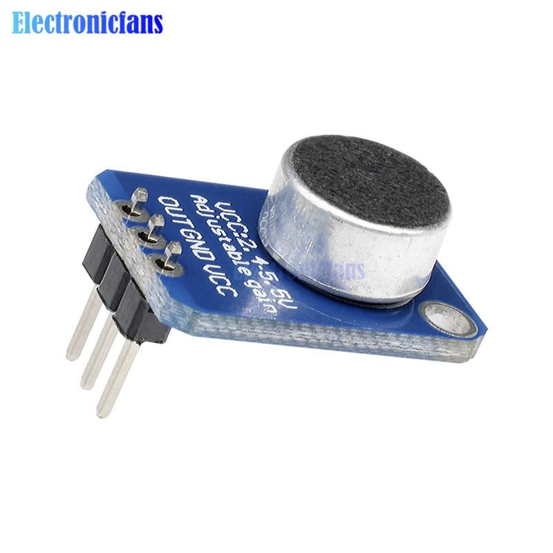 Микрофонный усилитель Electret MAX4466 с регу