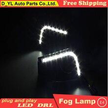 Phare antibrouillard pour Toyota Vios 2014-2016   Style de voiture de bonne qualité, phare de jour de à, partie de voiture