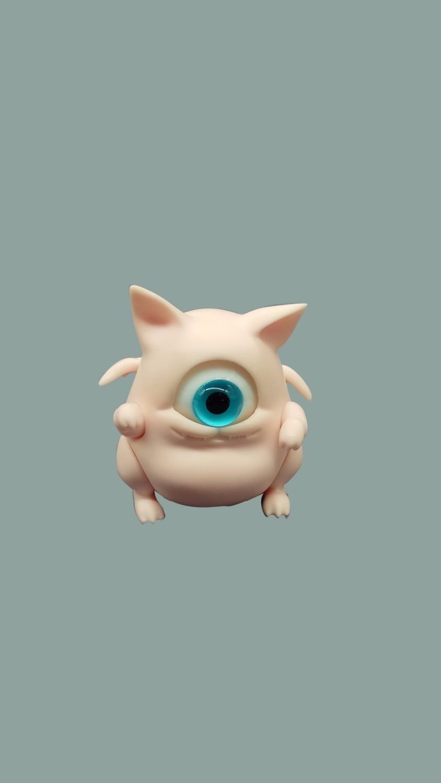 AQK (AQK) BJD 1/12 pequeñas manchas para mascotas (gratis para un par de ojos)