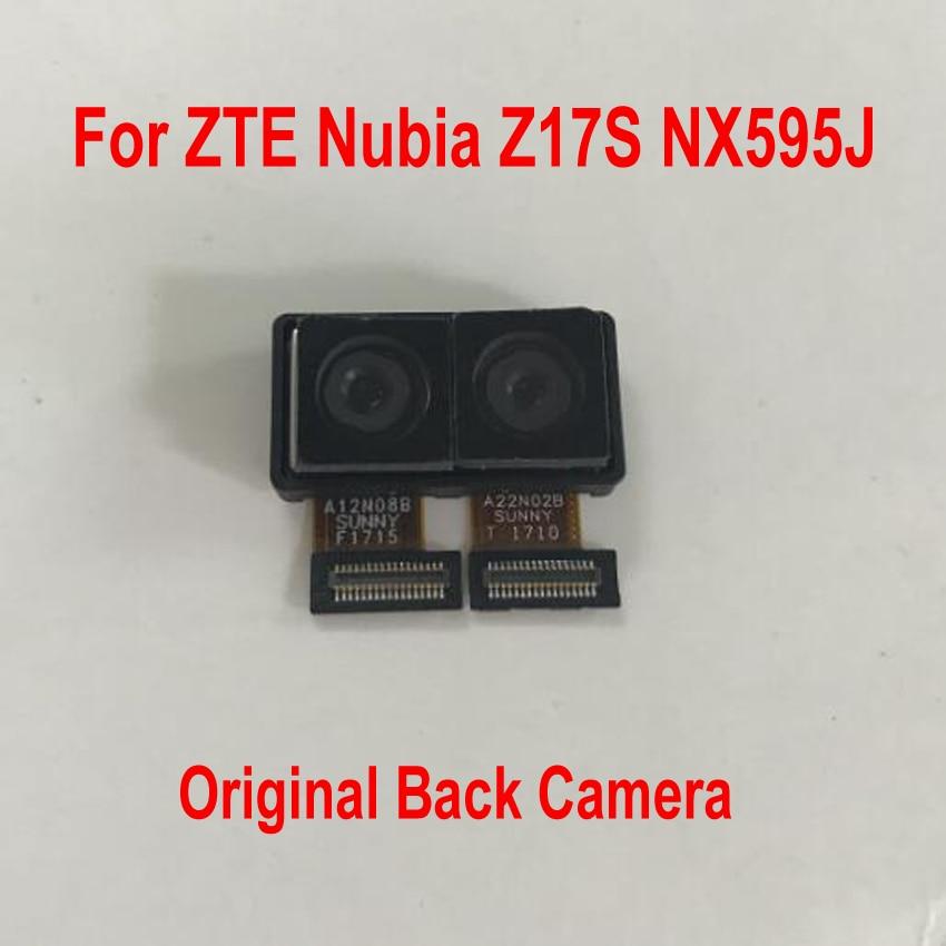 Original Good Working Main Flex Big Rear Back Camera Module For ZTE Nubia Z17S NX595J Mobile Phone Cable Parts