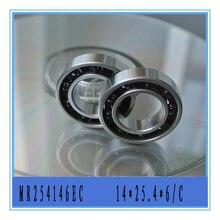 5 peças 14X25.4X6 MR254146EC Cuscinetto Ceramica por motori