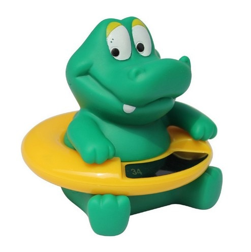 Infant Baby Temperature Water Thermometer Bear Baby Bath Thermometer Duck Dinosaur Baby Tub Toy Temp