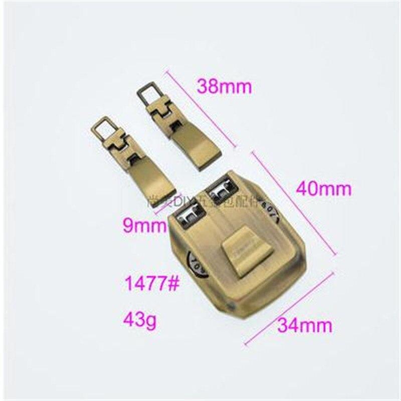 DIY 手作り革メンズの財布パスワードロックアクセサリーハードウェアバックル荷物ブリーフケースロックハードウェア