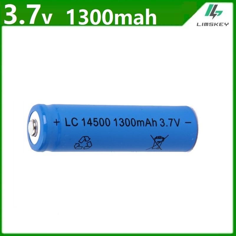 Аккумуляторная литий-ионная батарея для игрушечных автомобилей/лодок/грузовиков/танков, 3,7 В, 14500, новейшая батарея AA
