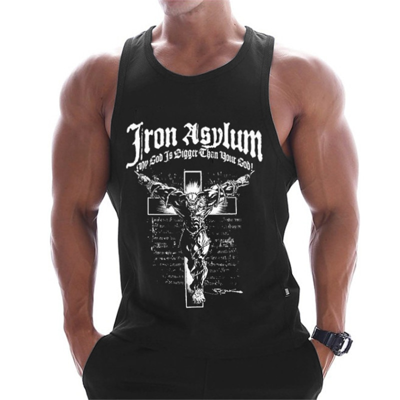 2019 new gyms clothing cotton bodybuilding tank top bodybuilder mens ropa hombre tops singlet erkek
