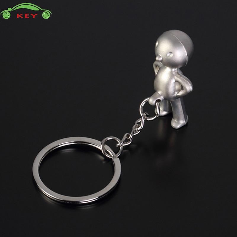 Akimbo Kids Metal Car Keychain Auto Motorcycle Key Ring for Land Rover Honda Nissan Volkswagen Mercedes Mazda Lada Volvo Keyring