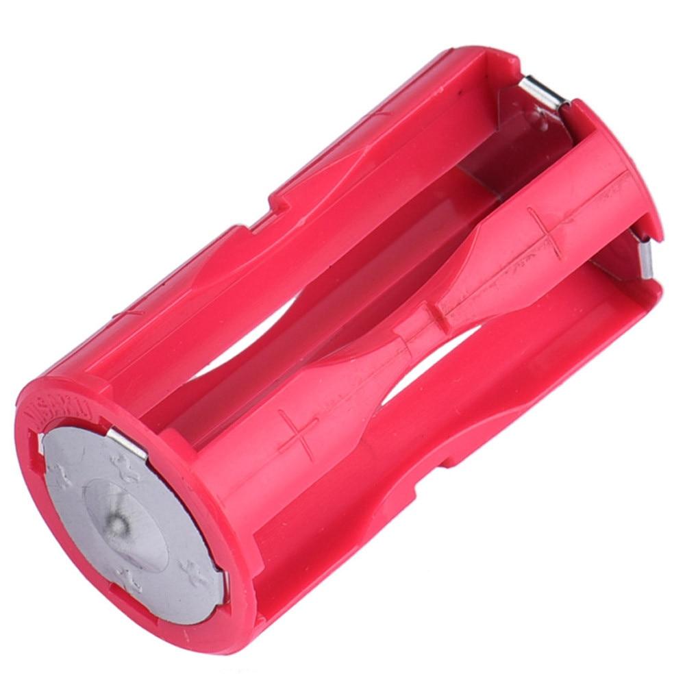 1pc Recharger AAA Batterie Ladegerät Rot Farbe Kunststoff 1,5 V Parallel Batterie Unterstützung ladung Für 4 stücke Batterien