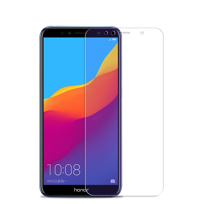 2 шт закаленное стекло для Huawei Honor 7A 7C Pro Русская версия Взрывозащищенная защитная пленка для экрана