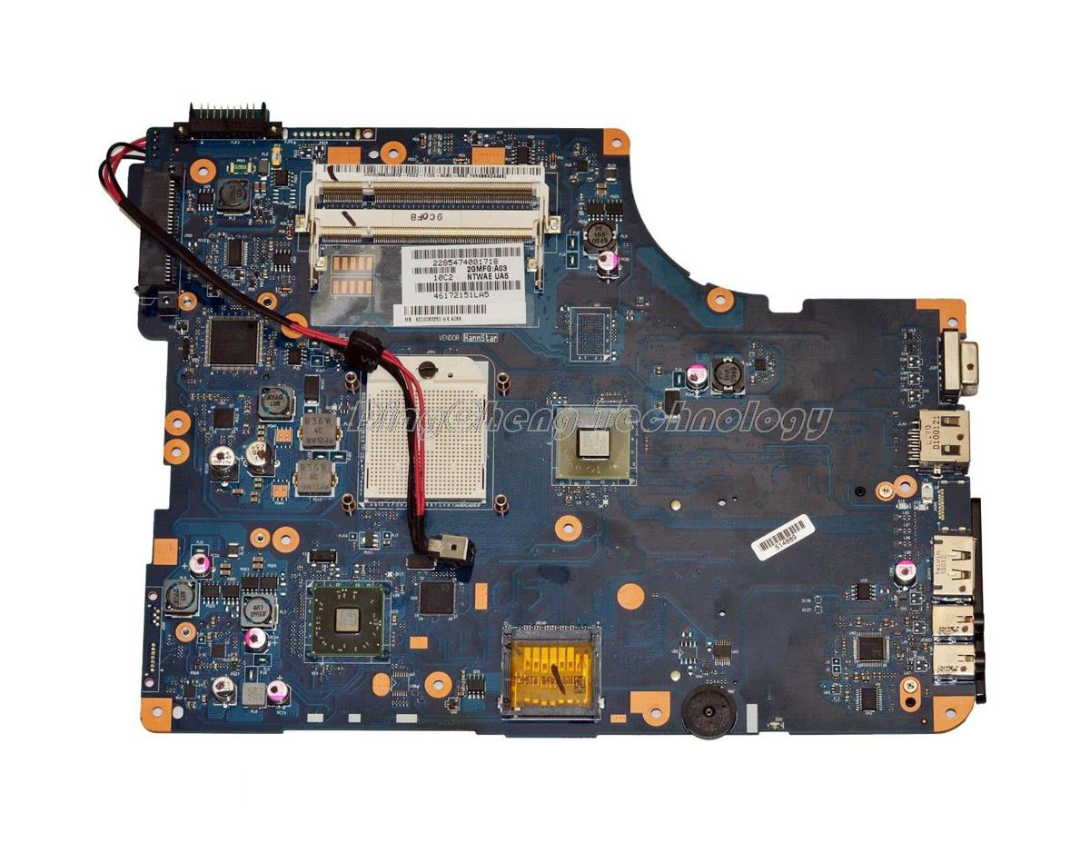 HOLYTIME материнская плата для ноутбука Toshiba Satellite L550D L555D K000085590 NSWAE LA-5332P интегрированная видеокарта 100% протестирована
