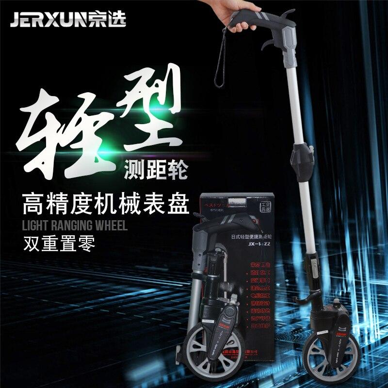 JERXUN Taiwan Imports Hand Push Type Distance Measuring wheels High Precision Mechanics Electronics Measuring Instrument