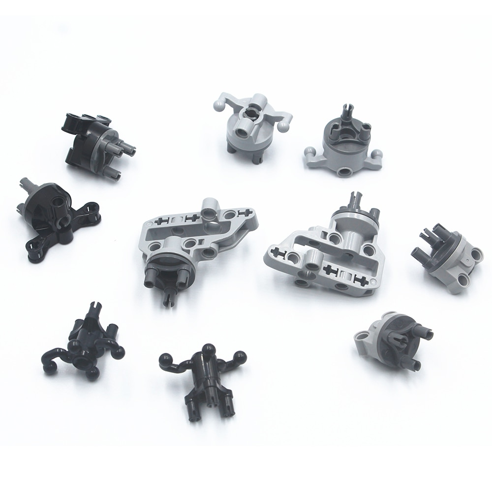 Hub De Direção de suspensão Portal Carcaça Do Eixo Drive Combinação Peças Technic brinquedos Tijolos de Bloco de Construção compatível com lego MOC