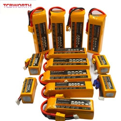14.8v rc lipo bateria 4S 2200mah 2600mah 3300mah 4000mah 5200mah6000mah 25c 35c60c para rc avião zangão helicóptero quadrotor 4S